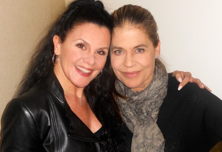 Bess Motta and Linda Hamilton - Chiller Theatre Expo 2014