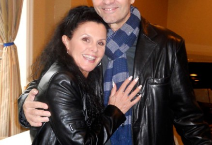 Bess Motta and Michael Biehn - Chiller Theatre Expo 2014