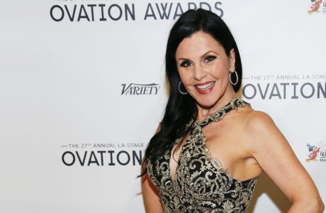 Bess Motta 2016 Ovation Awards Red Carpet Ceremony
