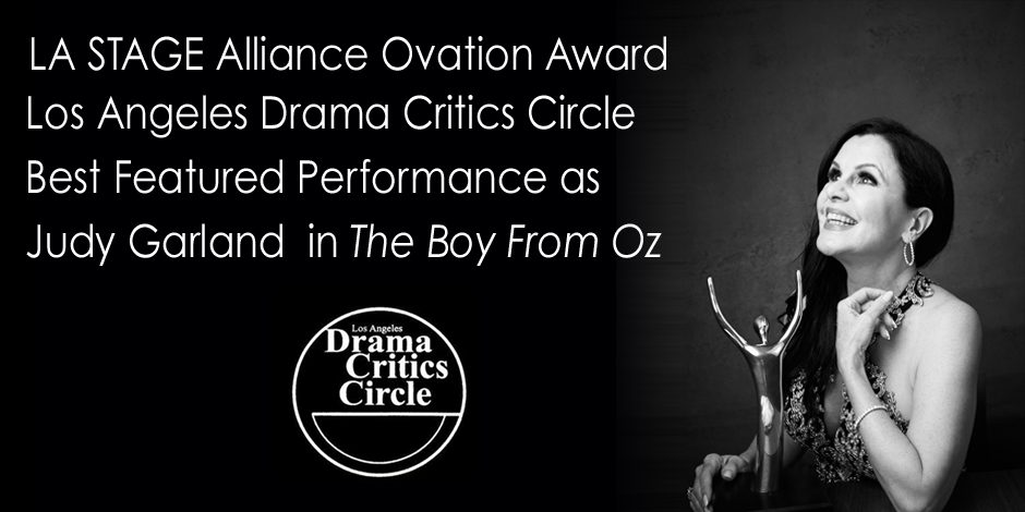 Bess Motta Award Winning role as Judy Garland in THE BOY FROM OZ